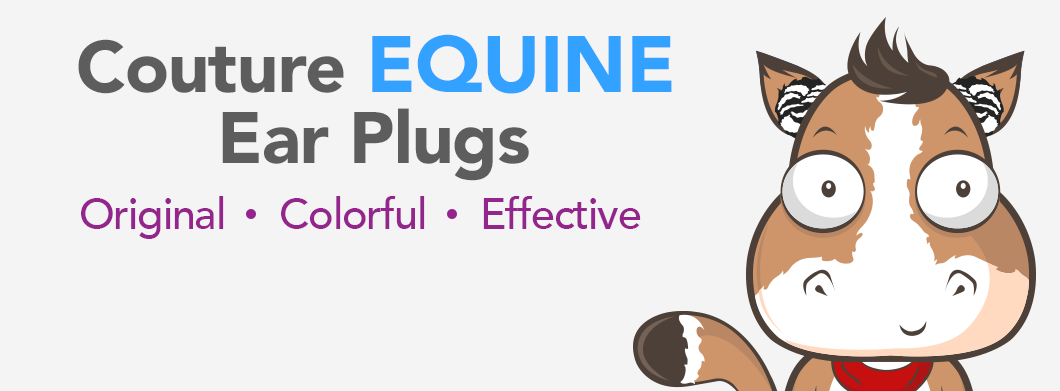 Couture Equine Ear Plugs - Silly Sounds