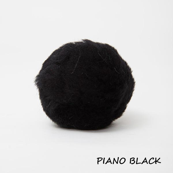 piano black equine ear plugs