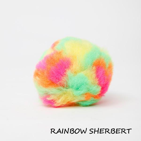 rainbow sherbert equine ear plugs