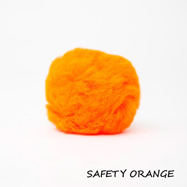 safety orange equine ear plugs