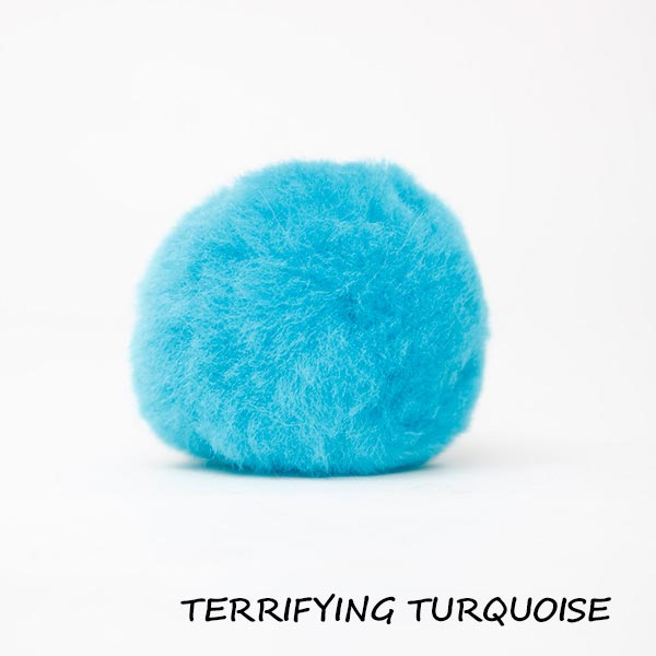 terrifying turquoise equine ear plugs