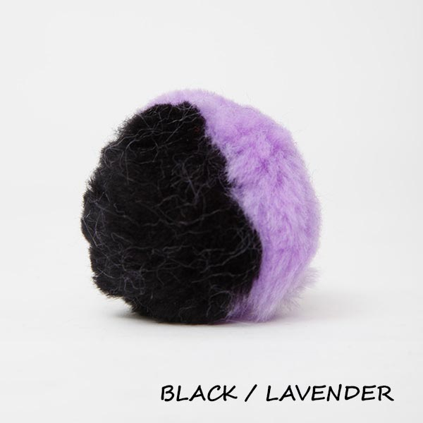 black lavender equine ear plugs