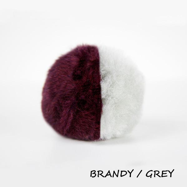 brandy grey equine ear plugs