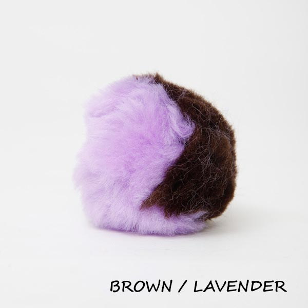 brown lavender equine ear plugs