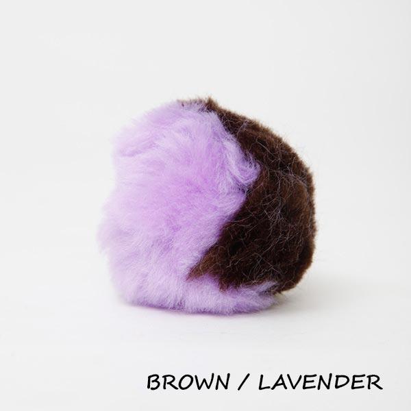 brown lavender equine ear plugs